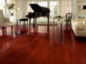 Classic hardwood example from Pinterest.